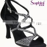 Suphini Diamond Ballroom Dance Shoes With High Heel