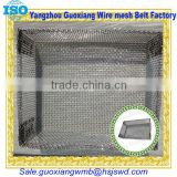Stainless steel cage or iron wire basket or gabion box