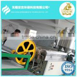 100% Polypropylene meltblown nonwoven fabric making machine oil absorbent pads machine medical mask