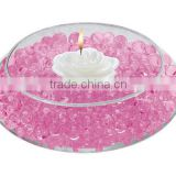 NON-TOXIC 12 colors wedding decoration centerpieces, cooling gel beads, lighted flower arrangements