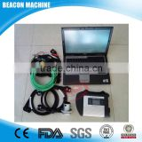 BEACON Auto car diagnostic scanner MB Star sd c4 with DELL D630 laptop software version