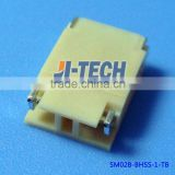 3.5mm pitch wire to board connector BHS series JST crimp connector SM02B-BHSS-1-TB shrouded header 2 pin