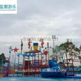Factory supply water park equipment popular water house wholesale