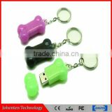 dog bone shape usb flash drive 8GB pvc usb promotional Personalized Appreciation Gifts & Promotions