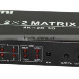 HDMI 1.4a ,HDMI Matrix switch 2 x 2, 4k x 2k, 3D,Newest