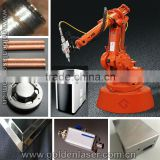 Robotic arm laser welding machinery for metal