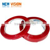 Super strong propyl acid transparent tape red film/liner clear/transparent adhesive foam tape