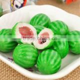 watermelon shape&flavoured bubble gum ball