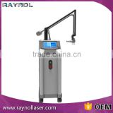 100um-2000um Glass Tube Co2 Fractional Laser Vagina Tightening Pore Removal Machine For Beauty Spa