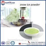 matcha green tea powder for snow ice, snowflake powder, snow ice maker