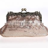 Cheap Kiss Lock Sequin Change Coin Purses,Sequin Clutch Purses Brial Clutch Bags (LCHEB45)
