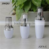 30ML 50ML 80ml White clear PETG plastic lotion bottles,wholesale skin care liquid bottles with pump, face cream bottle