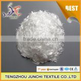 Junchi high tenacity multifilament yarn to cut monofilament pp fiber for concrete