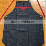 Heavy Duty Waxed Canvas Work Apron with Pockets