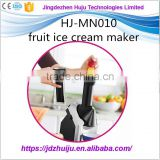 Commercial soft fruit ice cream maker machine new in 2016 year