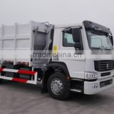 waste disposal truck HOWO compactor garbage truck