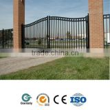Outdoor aluminum fence gate