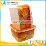 Wholesale Biscuit Package Chocolate And Biscuit Plastic Cup with IML Cover, Food Disposal Microwave Container