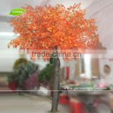 BTR1101 GNW 15ft high artificial red maple tree and leaves wholesale for plaza decoration