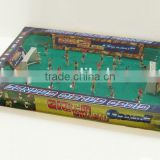 Kicker football Table top football with design on board foosball soccer table