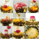 Flavor blooming tea , special gift flowering tea, EU standard organic tea good taete tea