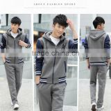 2017 latest Design Tracksuit Men Good price Slim Fitted Tracksuit Wholesale Fashion Sportswear Mens Tracksuits
