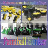 Hot sales inflatable sport games/paintball bunkers