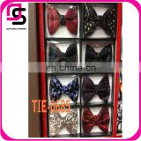New Arrival High-end high quality satin custom men's bow tie