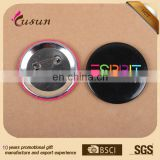 Fashionable Business gifts offset printed round shape tin button badge