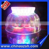 2015 Novelty flashing led bowl with color change for bar