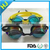 Swim goggles anti fog waterproof anti-UV silicone swimming goggles