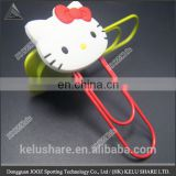 custom silicone hello kitty bookmark cartoon characters bookmark cartoon cute design bookmark