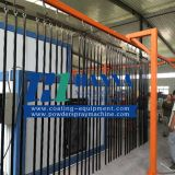 Wrought Iron Powder Coating Line Powder Spraying Coat Equipment Machinery
