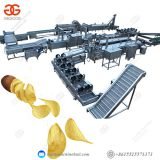 Potato Chip Manufacturing Equipment Full Automatic Efficient Potato Chips Making Machine