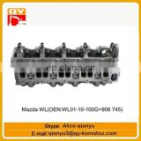 excavator engine parts Mazda WL(OEN WL01-10-100G=908745) cylinder head