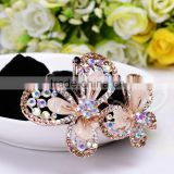 Colorful Rhinestone Men Thick Hair Bands