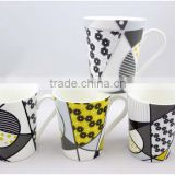 11oz porcelai coffee mug with decalPromotional Ceramic Coffee Mug with cheap price and good quality
