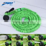 NEW soft expandable large diameter garden hose with spary gun