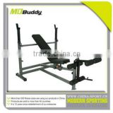 Commerial exercise weight bench