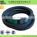 Excavator transmission part engine fan belt