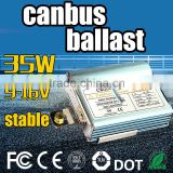 Whole seller!AC 9-32v HID Kit h1 h3 xenon hid canbus ballast 35W,12V 24v hid lighting kit xenon lamp electronic ballast 35w