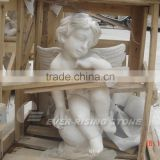 China white Marble angel statue