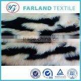 fabric high weight 1100-1300gsm price far land 100% polyester can be used for the fur coat fur collar boots fabric
