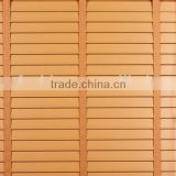 Pvc coated waterproof shutter roller blind and window curtain roller shutter/wood blind/