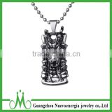 Men punk pendant import jewelry from China stainless steel metal costume jewelry                                                                                                         Supplier's Choice