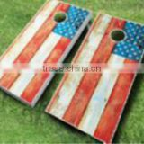 American Flag Cornhole Boards Bean Bag Toss Game