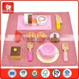 cheap girl toys knife cake cup orange fork spoon table lineninto a picnic box picnic role play