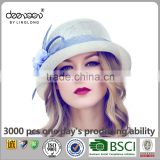 Philippine Sinamay Women Church Hats Wholesale Summer Party Hats