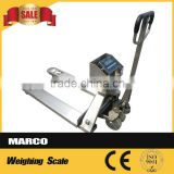 Changzhou Factory 2000KG Hand Pallet Truck Scale