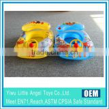 Transparent car baby pool seat inflatable baby swim ring float